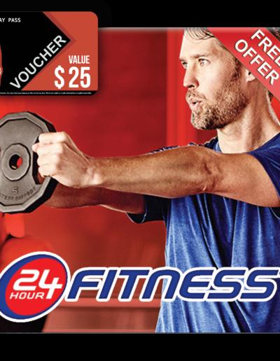 24 Fitness Voucher