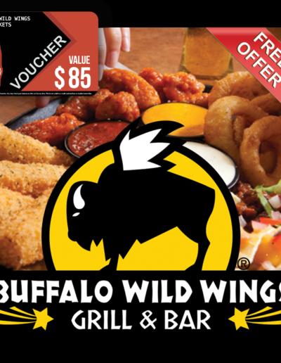 Buffalo Wild Wings Voucher