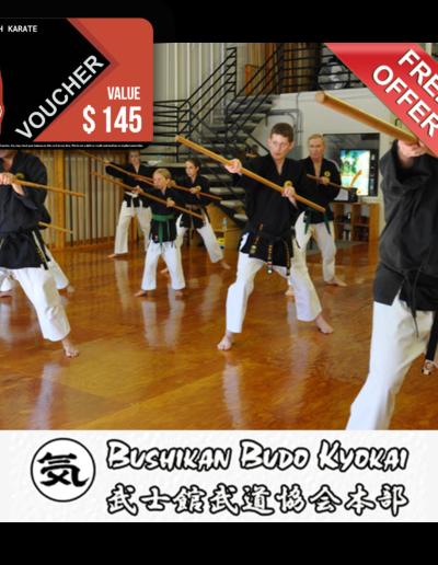 Bushikan Karate Dojo Voucher