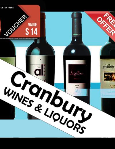 Cranbury Wines & Liquor Voucher