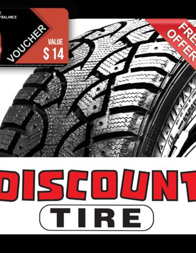 Discount Tire Co Voucher