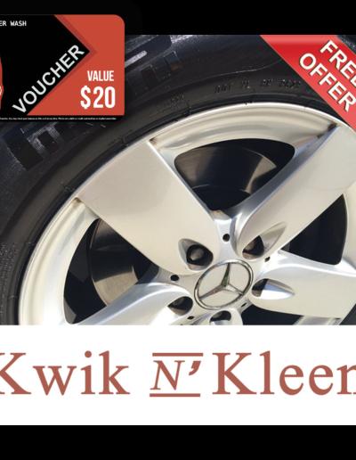 KWIK N' Kleen Car Wash & Dtl Voucher