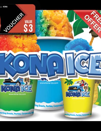 Kona Ice, Coastal Voucher