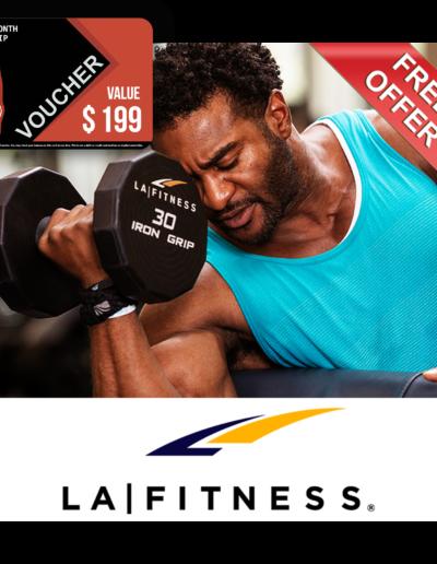 LA Fitness Voucher