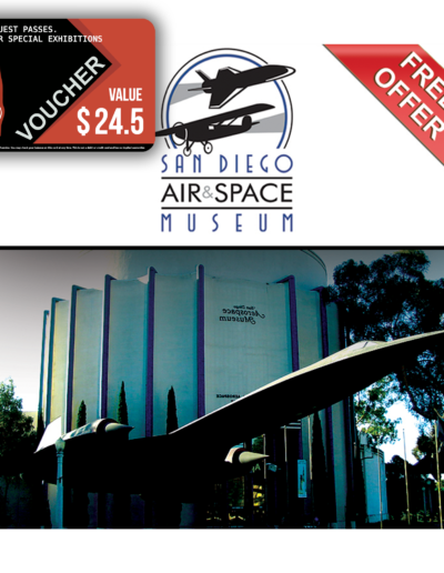 San Diego Air and Space Museum Voucher
